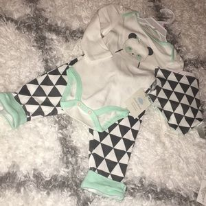 New baby girl 👧 3 pieces set